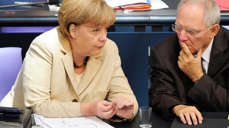 Germany and the European debt bailout, the Fed's Bernanke challenges lawmakers, the constitutionality of Obama's healthcare act, Chris Christie, and the death of al-Awlaki...
