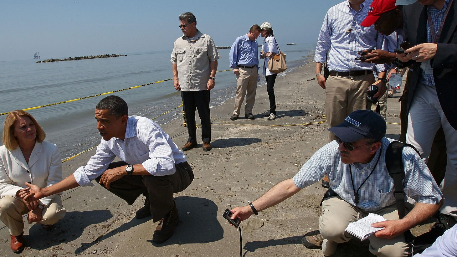Was Obama too slow? Is the BP Gulf Spill his Katrina? Economic shocks continue to rattle the market and the globe. Is Spain the new Greece? Is China manipulating currency exchanges and holding US and Europe hostage? Plus, with news of the White House asking Bill Clinton to ask Joe Sestak not to run against Arlen Specter, is this business as usual from a President who promised cleaner politics and no more backroom deals? Is it really important? (David Frum sits in for Tony Blankley.)