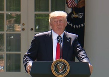 President Trump: US to withdraw from the Paris Climate Accord