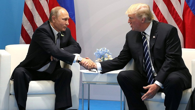 Vladimir Putin denied Russia interfered in the 2016 election.