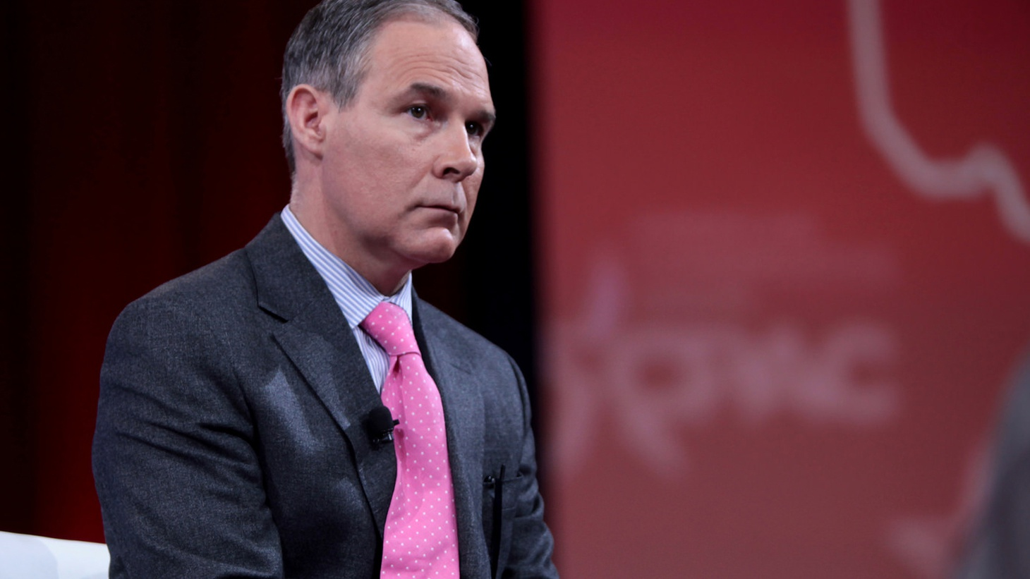 Like Scott Pruitt's former landlord, it took President Trump a while to get rid of him.