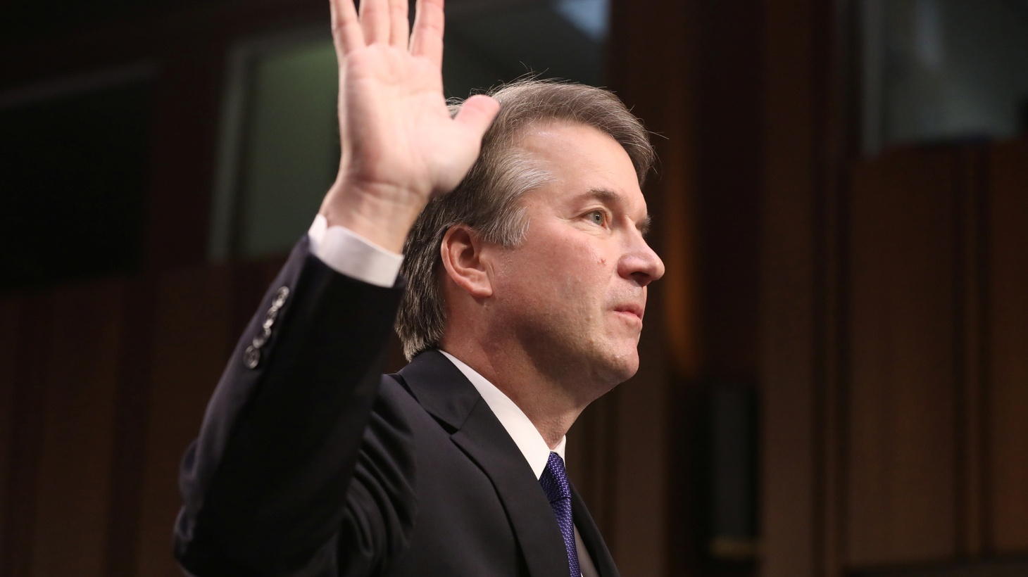 """The Brett Kavanaugh confirmation hearings and """"Fear"""" inside the White House."""