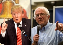 Sanders and Trump Won Huge in New Hampshire