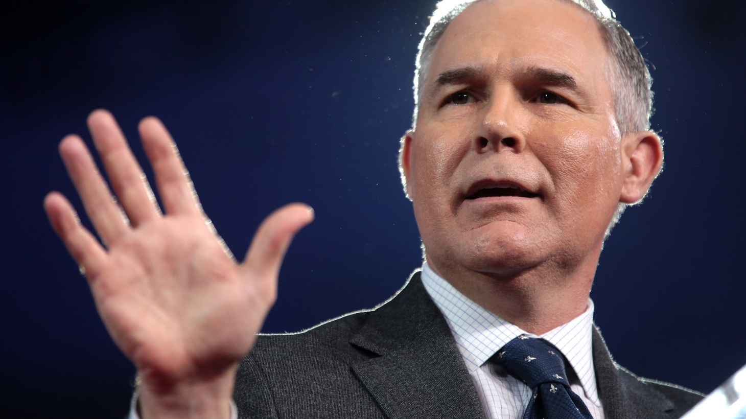 EPA Administrator Scott Pruitt's job is to protect wetlands. Is that why he can't convince anyone he's draining the swamp?