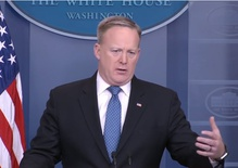 Sean Spicer is out