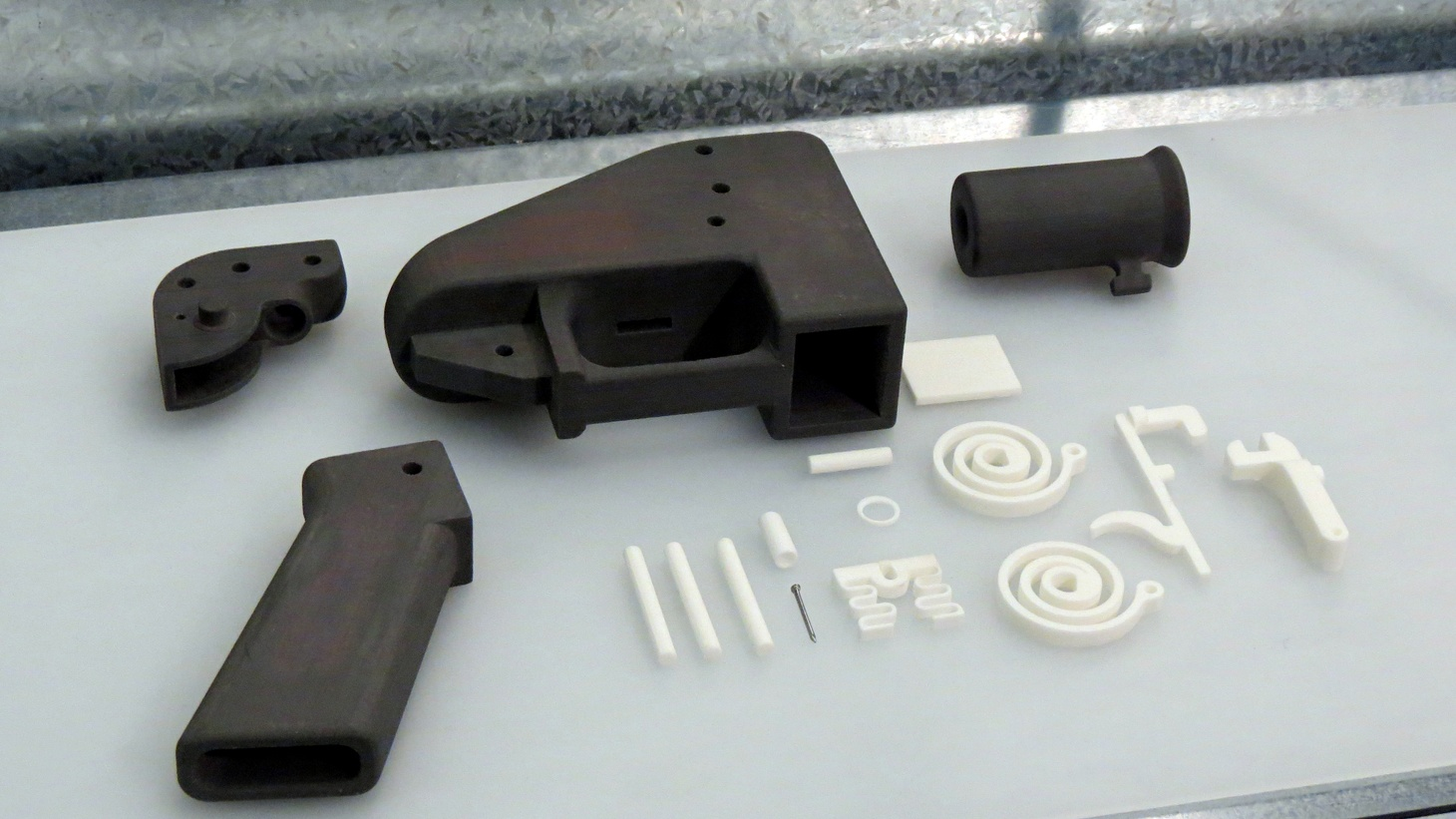 The Constitution says yes, but common sense says no — says the lawyer representing the 3D-printed gun blueprint maker