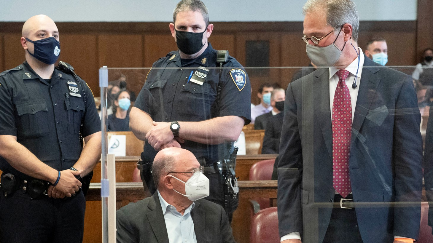 Trump Organization chief financial officer Allen Weisselberg appears for his arraignment hearing in New York State Supreme Court in the Manhattan borough of New York City, New York, U.S., July 1, 2021.