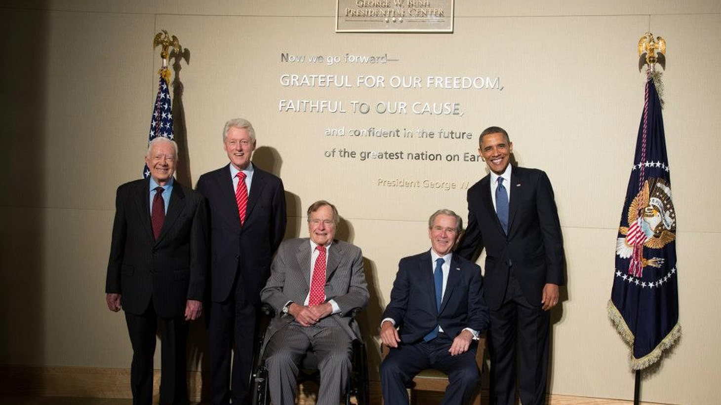 """Syria crosses the """"red line,"""" the Boston bomber's rights, George W. Bush's legacy."""