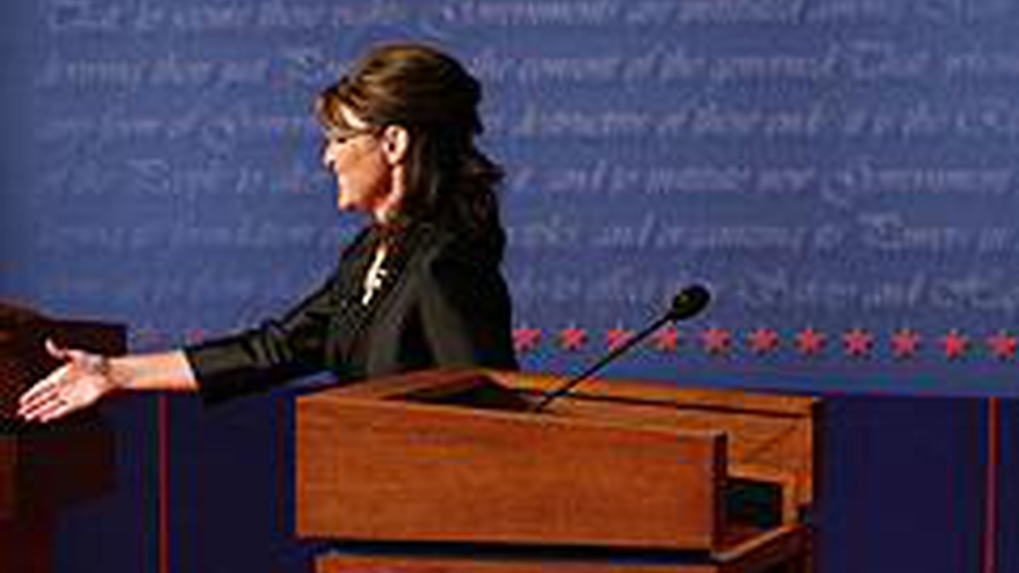 We take on Palin's penchant for winking and Biden's botox, the virtual absence of abortion in the debate, hypocrisy of the GOP on free markets and government bailouts. Plus, should we have adopted the Soros solution to Wall Street's ills?