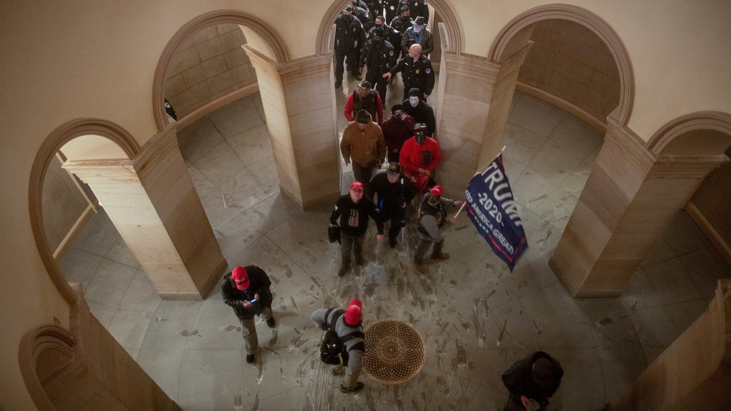 Pro-Trump protesters storm the U.S. Capitol during a rally to contest the certification of the 2020 U.S. presidential election results by the U.S. Congress, at the U.S. Capitol Building in Washington, D.C., U.S. January 6, 2021. Picture taken January 6, 2021.