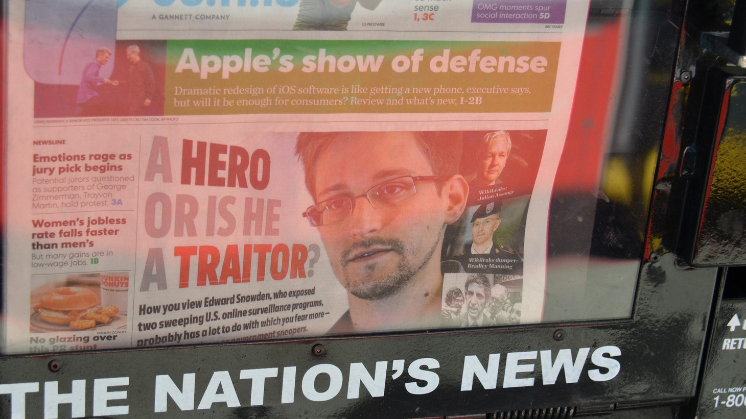 """We explore the Syrian """"red line,"""" Edward Snowden, the Debut of the Scheer O'Meter and immigration crunch time."""