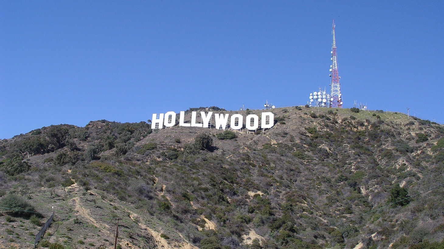 Hollywood Sign, Los Angeles.