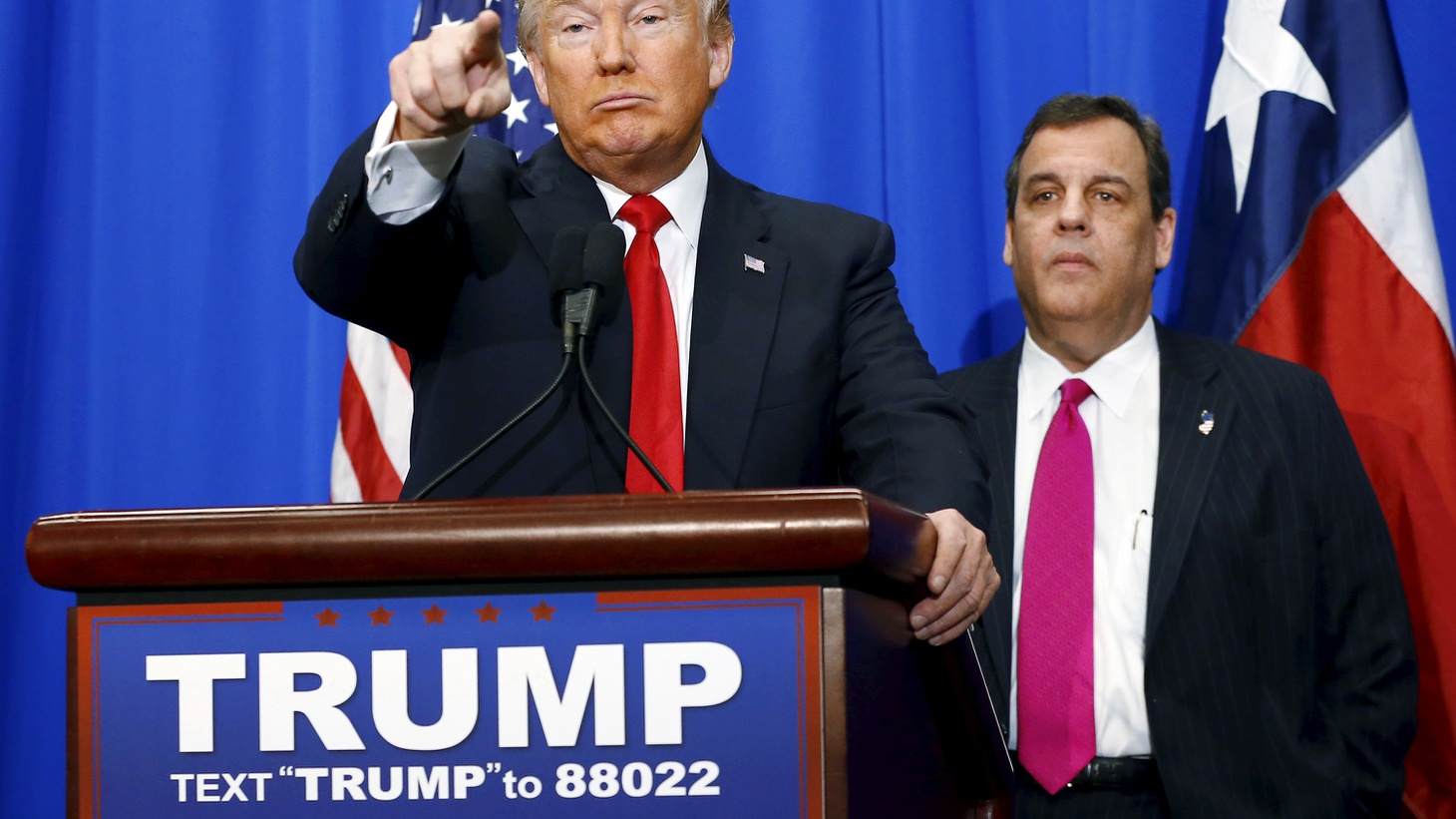 Chris Christie endorses Trump, closing Guantánamo, and iPhone security.