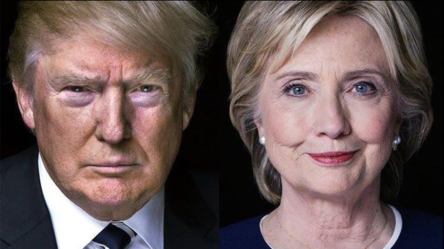 Hillary Clinton and Donald Trump's final debate.