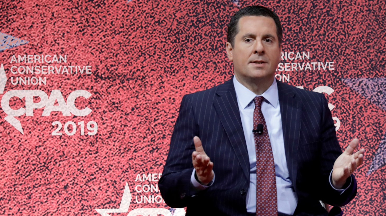 Rep. Devin Nunes (R-CA) speaks at the Conservative Political Action Conference (CPAC) at National Harbor in Oxon Hill, Maryland, U.S., March 1, 2019.