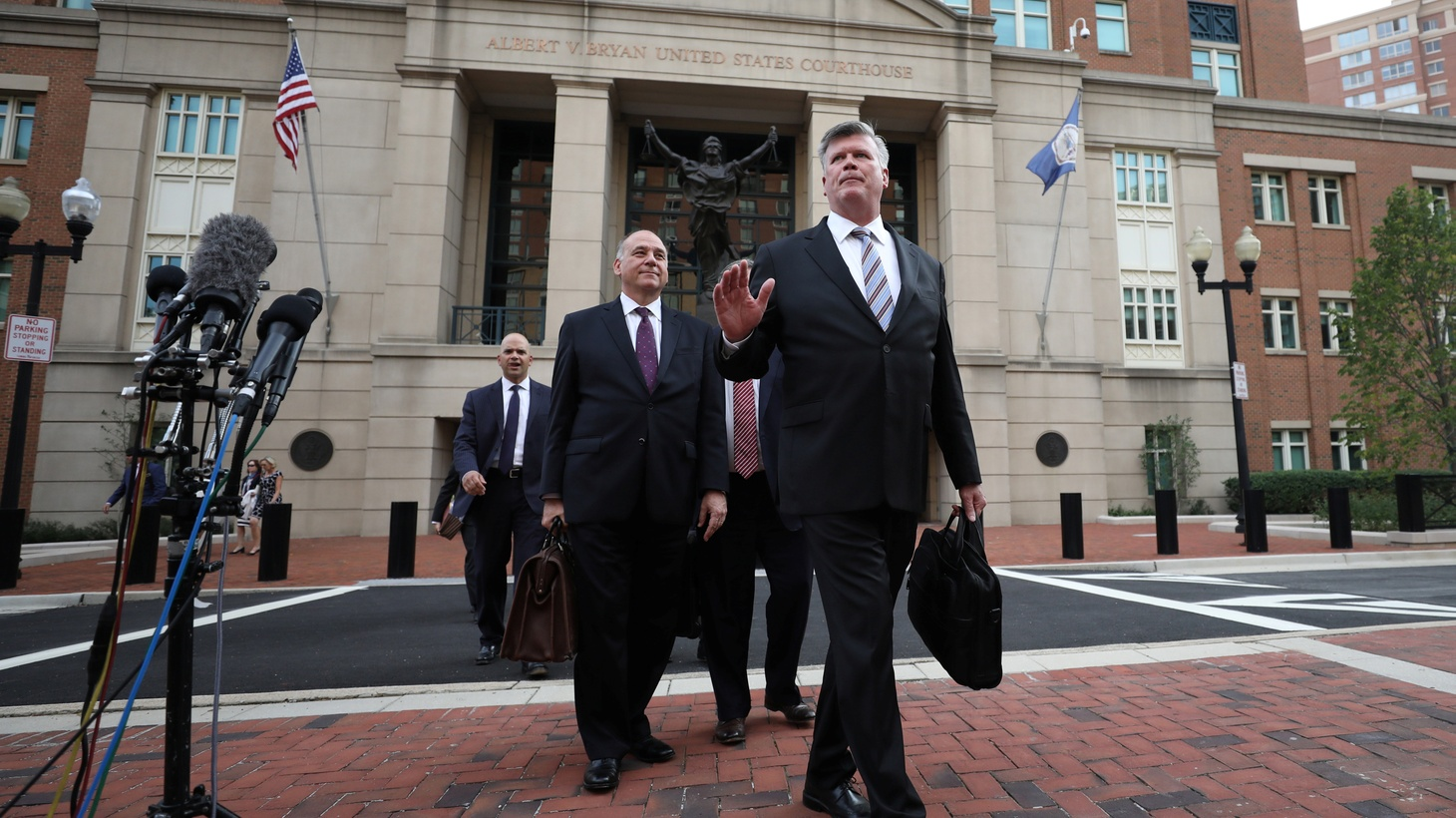 Closing arguments are finished and the jury in Paul Manafort's first trial begins deliberating