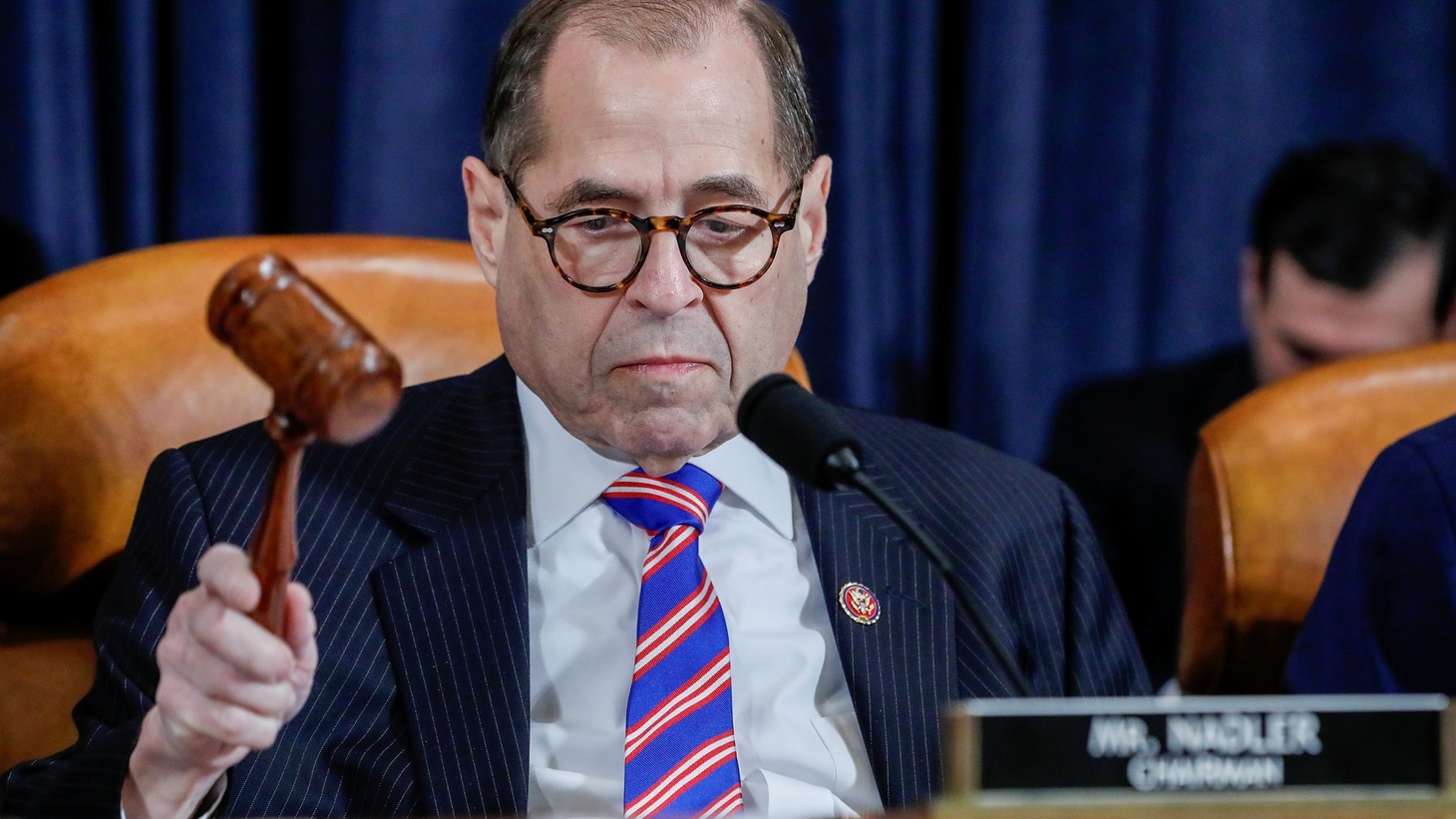 House Judiciary Committee Chairman Rep. Jerrold Nadler (D-NY) chairs a House Judiciary Committee hearing on the impeachment Inquiry into U.S. President Donald Trump on Capitol Hill in Washington, U.S., December 4, 2019.