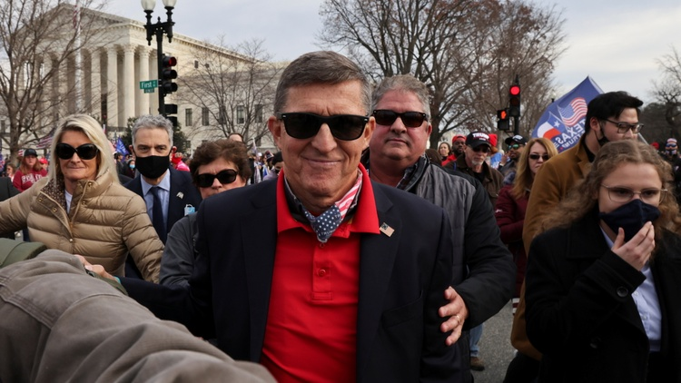 Josh Barro and Ken White discuss Michael Flynn's talk of a coup, Trump's wish for reinstatement, and Little RICO.