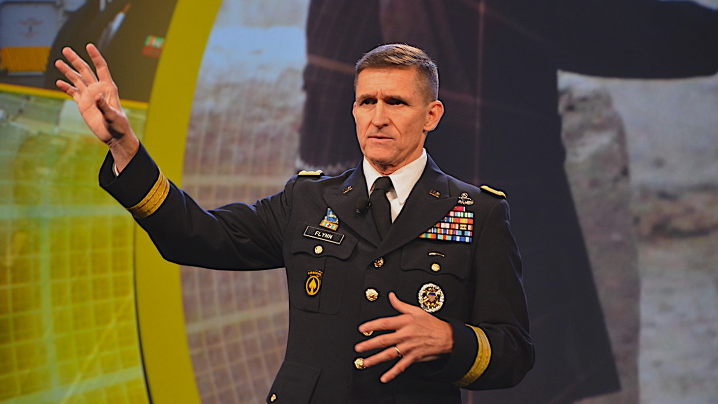 Former National Security Advisor Michael Flynn in 2012.