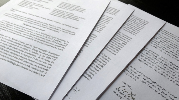 The Barr letter
