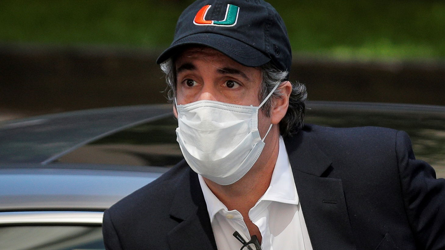 Michael Cohen, the former lawyer for U.S. President Donald Trump, arrives back at home after being released from prison during the outbreak of the coronavirus disease (COVID-19) in New York City, New York, U.S., May 21, 2020.