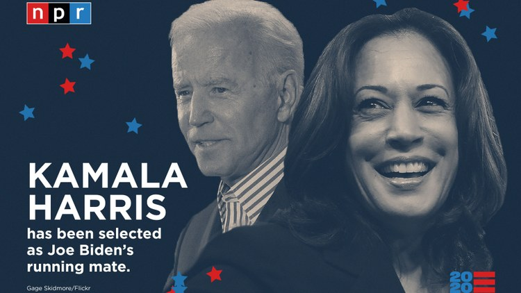 Biden and Harris speak together in Delaware