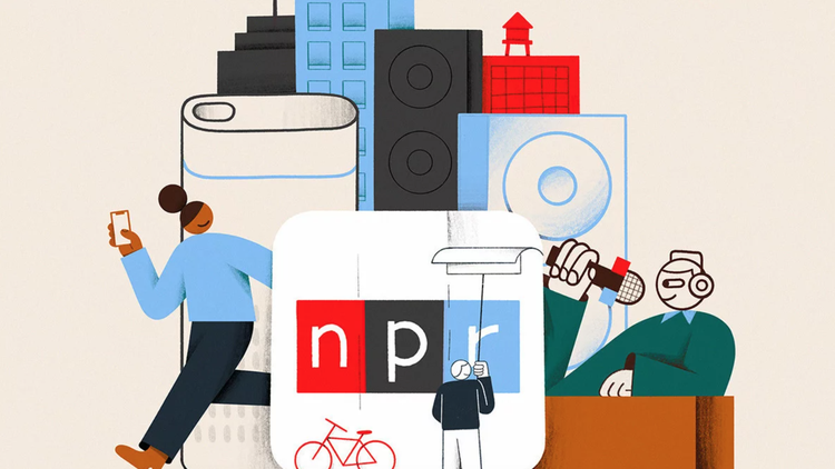 NPR just turned 50 years old. The network was born in the era of the Vietnam War and came of age during the explosion of the 24/7 news cycle.