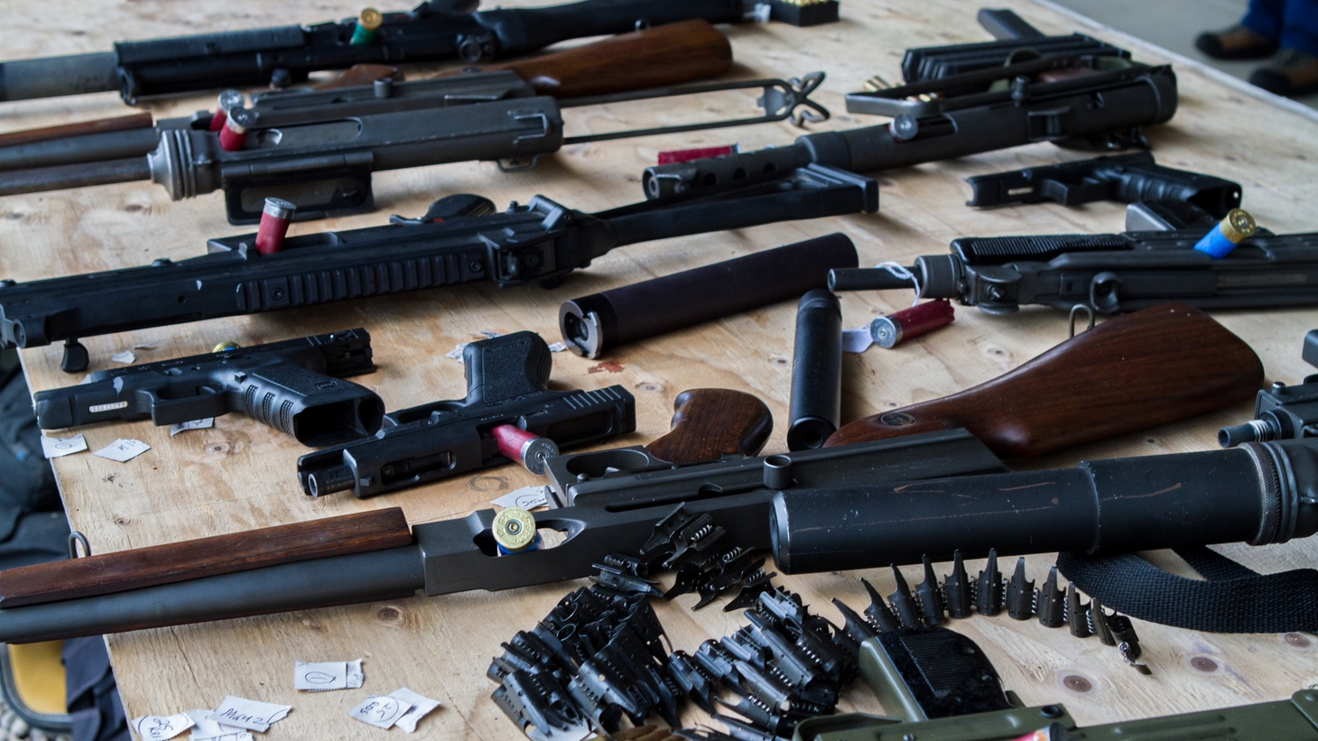 San Diego-based federal Judge Roger Benitez earlier this month threw out California's decades-old assault weapons ban. Officials have filed an appeal.