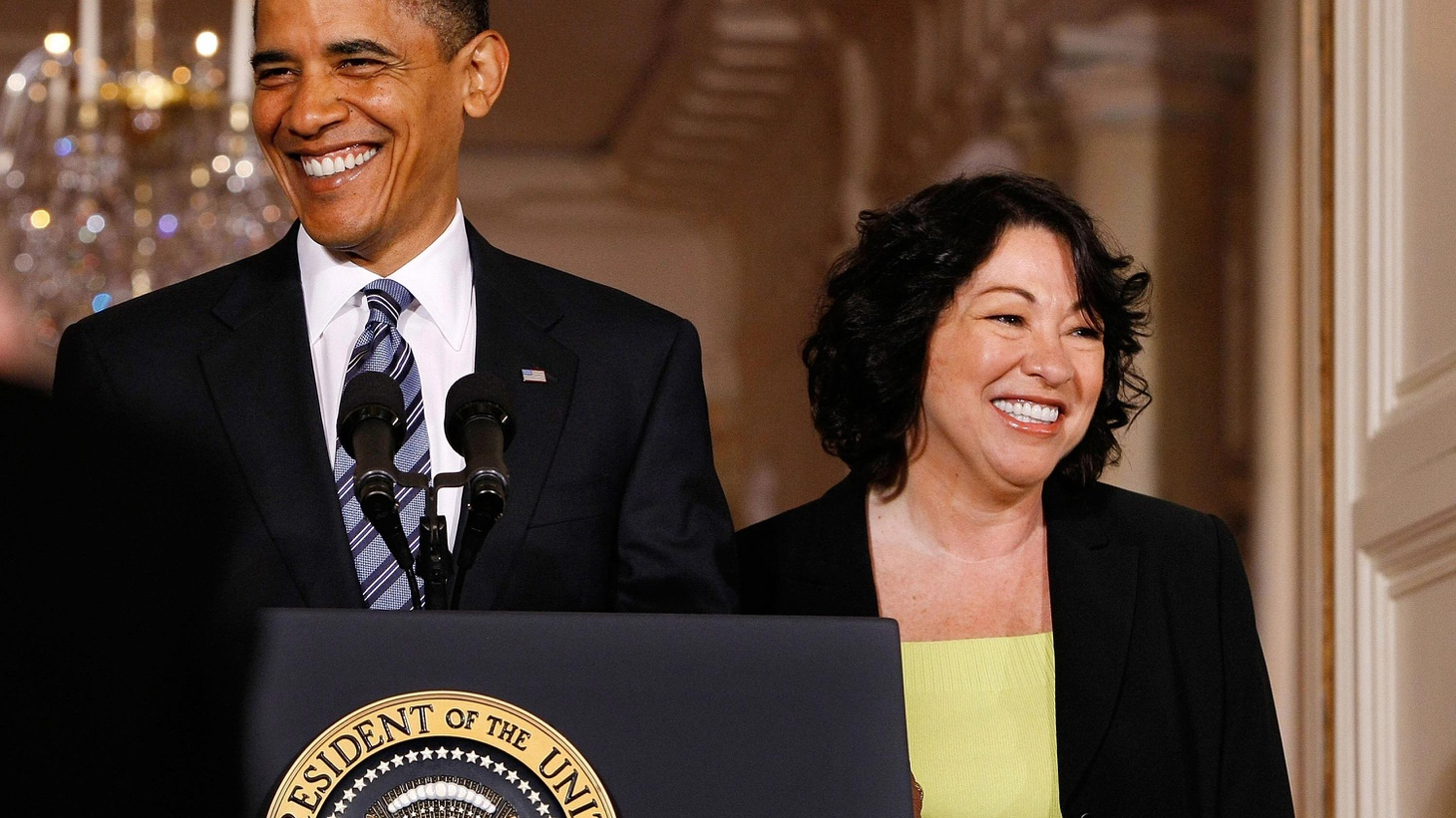 President Obama this morning named Sonia Sotomayor to fill the seat of retiring Justice David Souter on the Supreme Court. If confirmed, 54-year-old Sotomayor would bring nearly 17 years of experience on the federal bench and a history of bipartisan appeal to the high court. The daughter of Puerto Rican-born parents would be the first Latina to sit on the Court. KCRW presents a one-hour National Public Radio special, hosted by Neal Conan, which will contain live coverage of the President's announcement. Guests include NPR Senior Washington Editor Ron Elving, NPR Legal Affairs Correspondent Nina Totenberg, NPR Political Correspondent Mara Liasson, and NPR Justice Correspondent Ari Shapiro. (Special broadcast airs 4-5pm.)