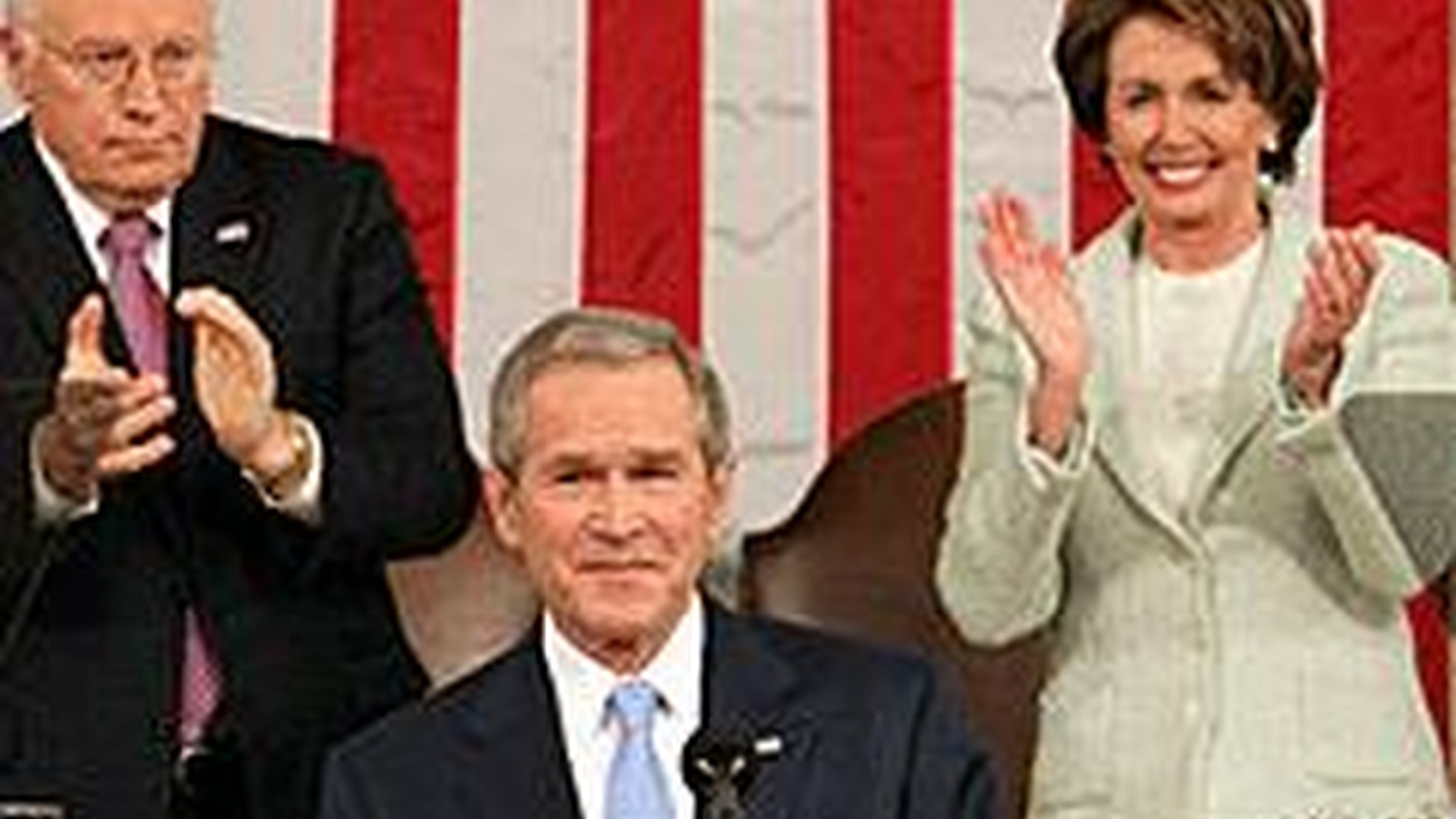 Tonight at 6pm (PST), President Bush presents his final State of the Union address.  KCRW will carry the address live, as well as the Democratic response, presented by Governor Kathleen Sebelius of Kansas.