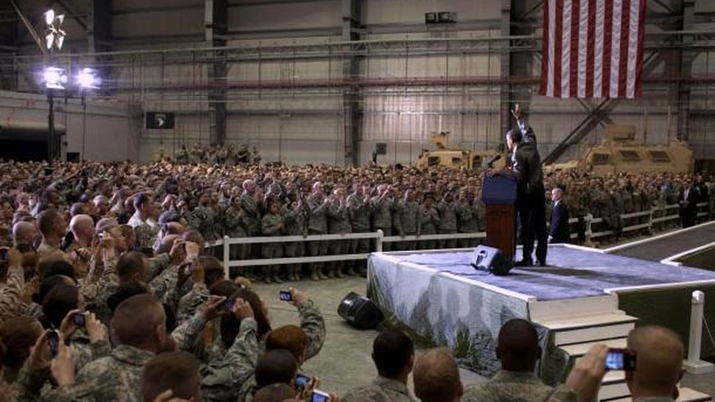 """President Barack Obama will address the nation today at 5pm, regarding troop levels in Afghanistan. KCRW will present """"special live coverage"""" of the President's speech live."""