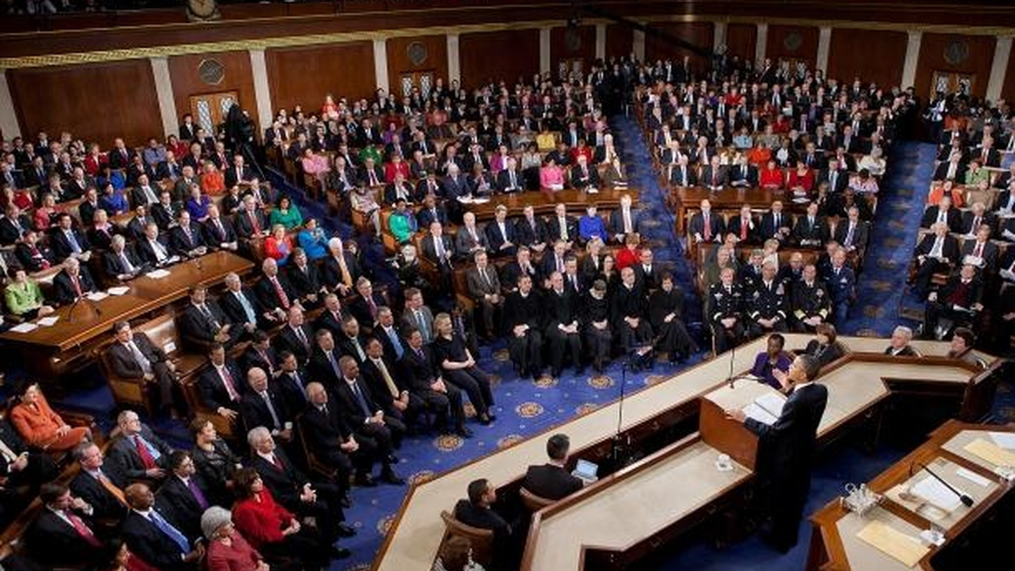 President Obama will deliver his 2012 State of the Union address on Tuesday, January 24 at 6pm. KCRW will carry the address, as well as the Republican response.