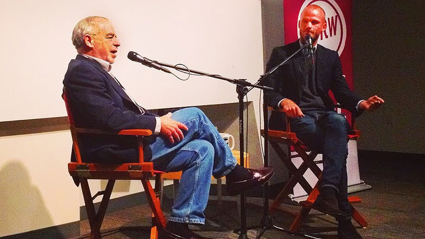 KCRW's Jonathan Bastian sits down with author Richard Russo in front of a live audience at Antioch University in Santa Barbara.