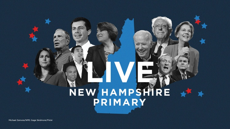 Follow NPR's live coverage of the 2020 New Hampshire primary, including results and analysis.