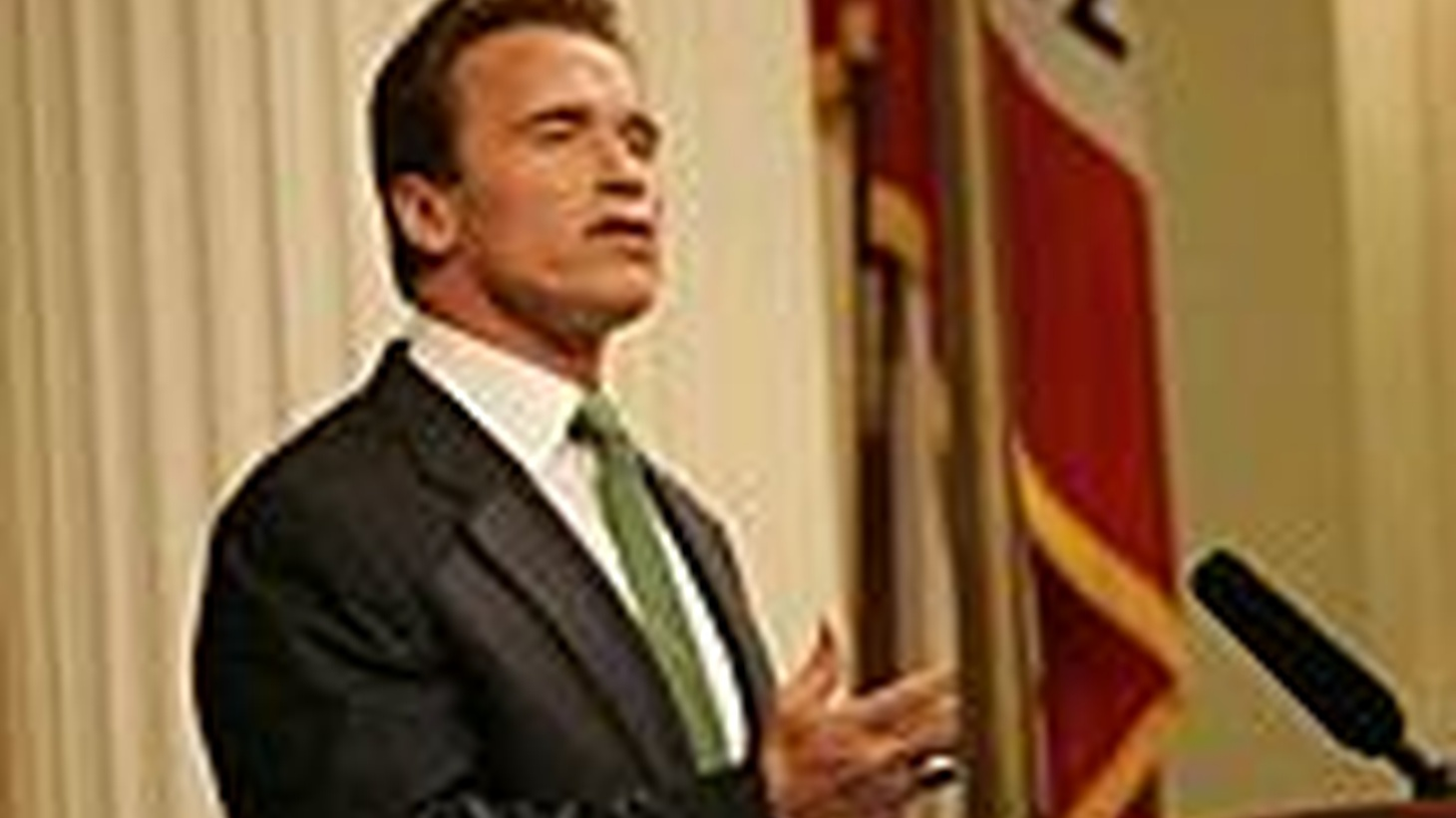 Governor Arnold Schwarzenegger gives his State of the State address. Warren Olney hosts special coverage, featuring excerpts and analysis, tomorrow on KCRW's Which Way, L.A.?