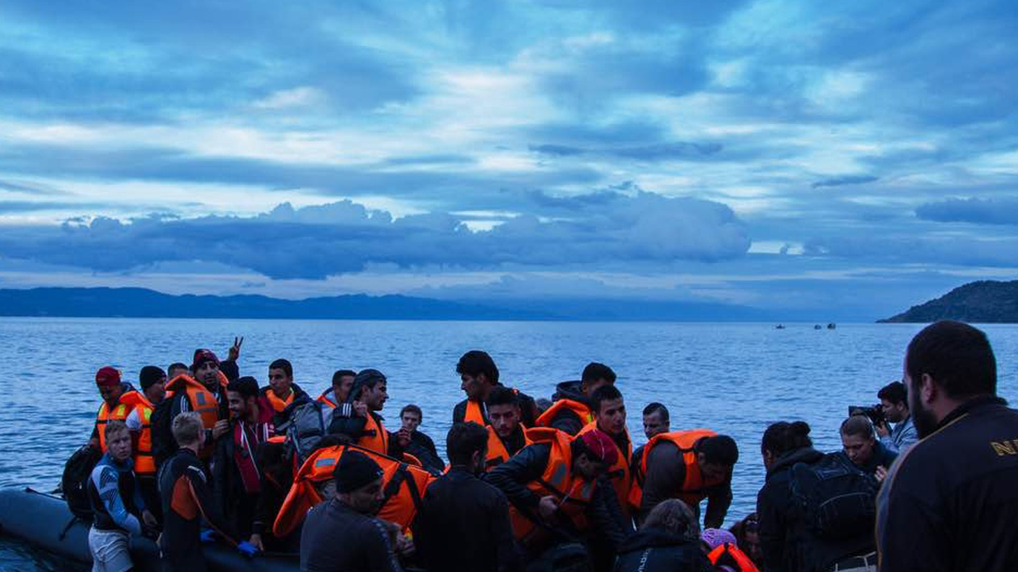 """In November of 2015, independent producer Scott Carrier followed the refugee trail backwards to Lesbos, and asked, """"Why did you leave home? Where are you going? What has happened along the way?"""""""