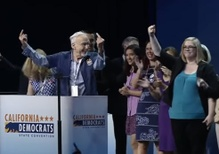 Growing pains for California's Democratic Party?