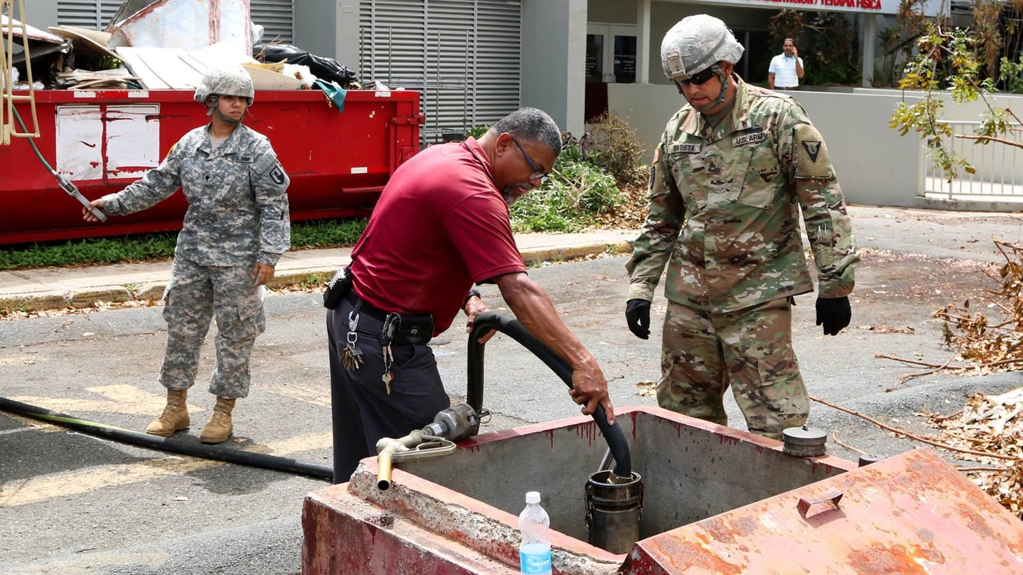 Almost three months after Hurricane Maria made landfall in Puerto Rico, the U.S. territory is still struggling to get basic necessities like water and power. The islands were already dealing with a crushing amount of debt before the storms, how should the U.S. help its territory recover?