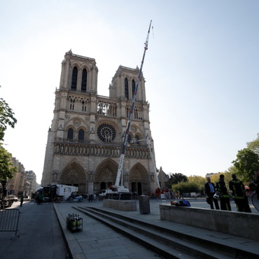 Since the Notre Dame fire, many large corporations and philanthropic French families have made hefty donations to restoring the cathedral.