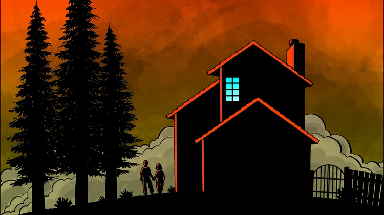 In October 2017, cartoonist Brian Fies and his wife were forced to evacuate their home near Santa Rosa. A massive wildfire was coming. Within an hour, their neighborhood was flattened.