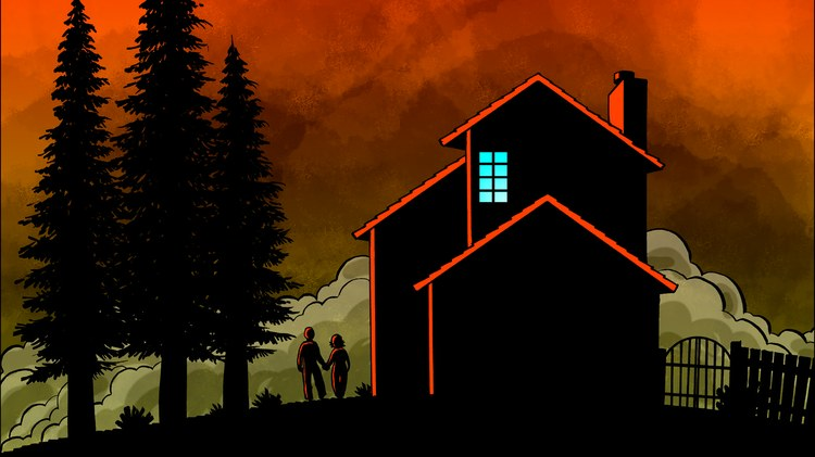 Around 1:30 am on October 9, 2017, cartoonist Brian Fies and his wife Karen were forced to evacuate their home near Santa Rosa. A massive wildfire was coming.