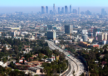 A smoggy year in Los Angeles