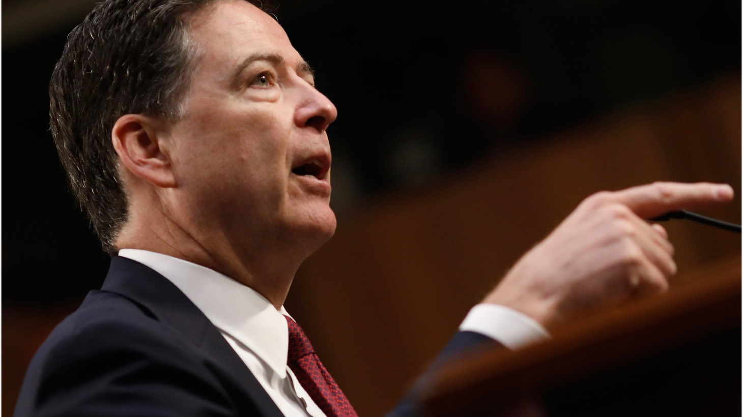 During his testimony Thursday, former FBI Director James Comey accused President Trump and other White House officials of lying when they said the FBI was in disarray and its staff had lost confidence in him. President Trump's lawyer said Comey was wrong -- that the president never asked for his loyalty, and never asked him to back off the investigation into former NSA director Michael Flynn.