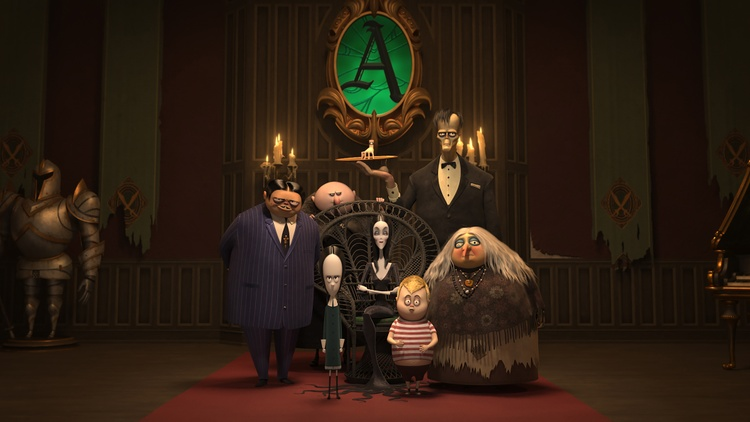 "The beloved 1960s  TV show ""The Addams Family"" is hitting the big screen as an    animated    feature."