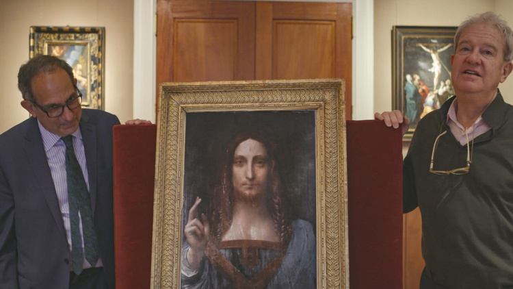 The art world was stunned in 2017 when an anonymous bidder at Christie's auction house offered the highest amount ever for a single painting.
