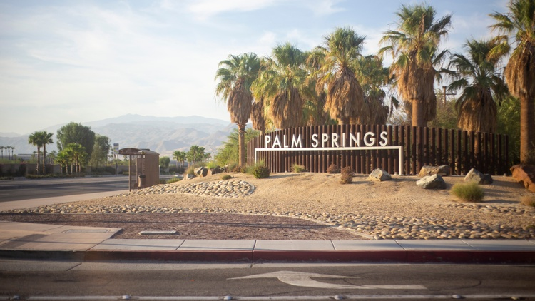 In Palm Springs, 80% of residents are white, according to the U.S. Census. But that wasn't always the case. Native Americans were the original inhabitants.