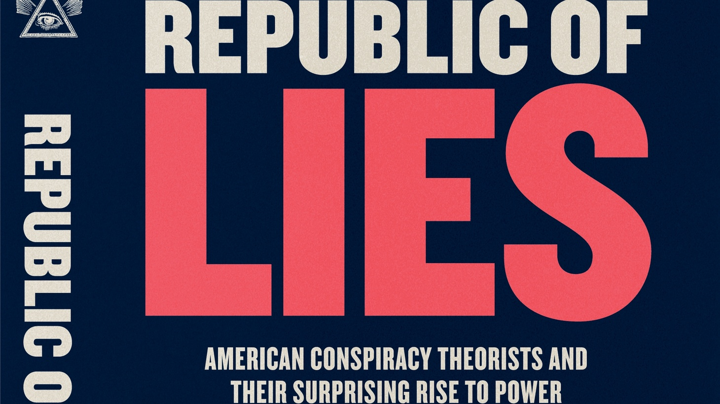 "The cover of ""Republic of Lies."""