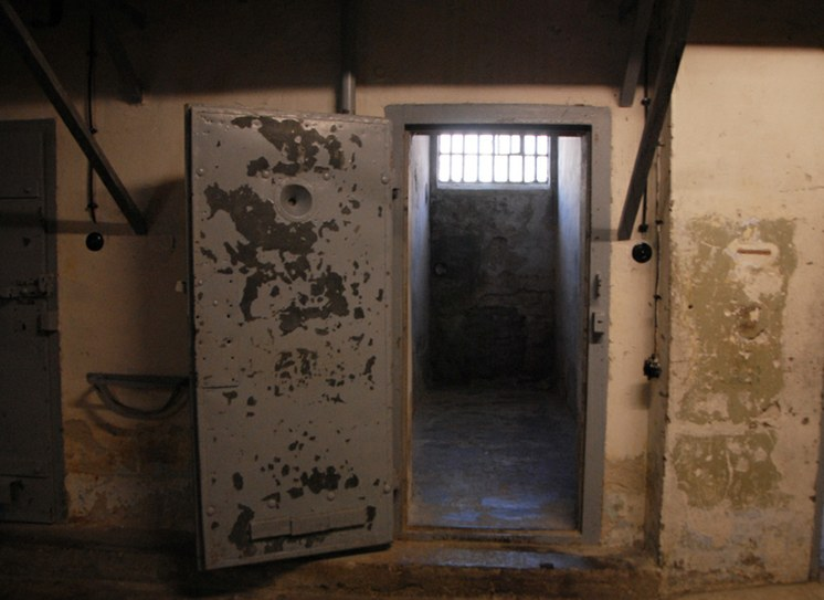 Another typical cell in the prison.