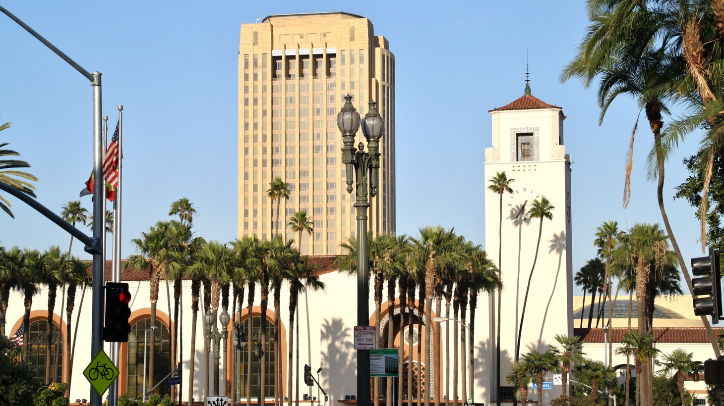 SB 50 would have forced LA to put more housing near public transit, such as Union Station.