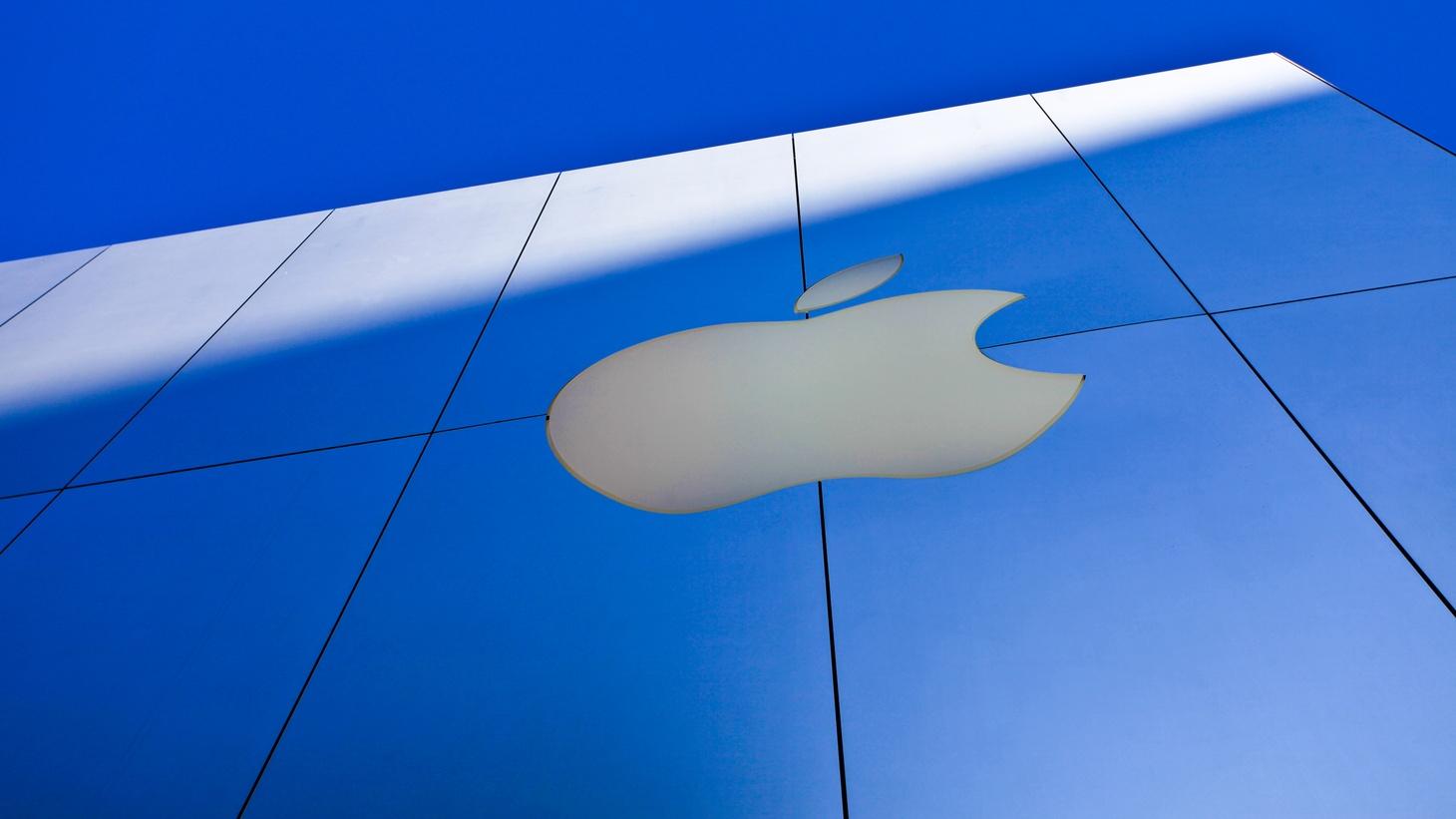 Apple store in San Francisco.